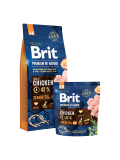 Brit Premium Dog by Nature Senior S+M 8kg
