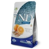 N&D OCEAN CAT GF Adult Herring & Orange 300g