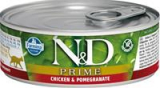 N&D PRIME Cat konz. Kitten Chicken & Pomegranate 80 g