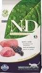N&D Grain Free CAT Adult Lamb & Blueberry 10kg