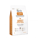 Brit Care Dog Adult Medium Breed Lamb & Rice 12kg +2kg zdarma