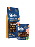 Brit Premium Dog by Nature Adult M 15kg+ 3kg zdarma