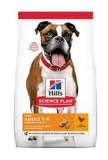 Hill's Science Plan Canine Adult Light Medium Chicken 14 kg