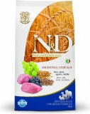 N&D LG DOG Adult M/L Lamb & Blueberry 12kg + konzerva zdarma