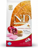 N&D Low Grain DOG Adult Mini Chicken & Pomegr 7kg