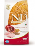 N&D Low Grain CAT Neutered Chicken & Pomegranate 1,5kg