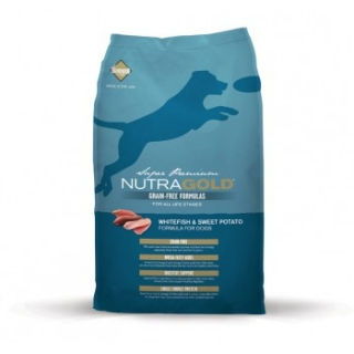 Nutra Gold Whitefish&Sweet Potato GRAIN FREE 13,6kg