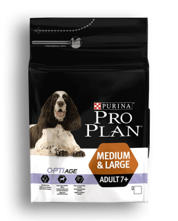 Pro Plan Dog Adult 7+ Medium&Large 14kg