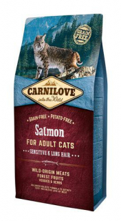 Carnilove Cat Adult Salmon Grain Free 6 kg
