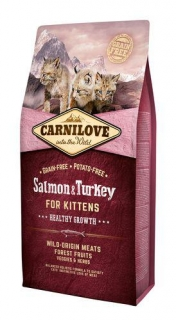 Carnilove Cat Kitten Salmon & Turkey Grain Free 0,4 kg
