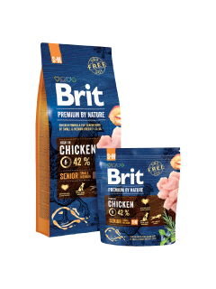 Brit Premium Dog by Nature Senior S+M 1kg