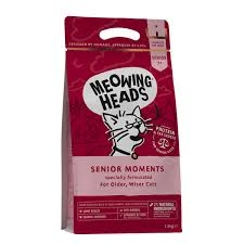 MEOWING HEADS Senior Moments NEW 1,5kg