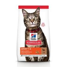 Hill's Feline Adult Lamb & Rice 10 kg