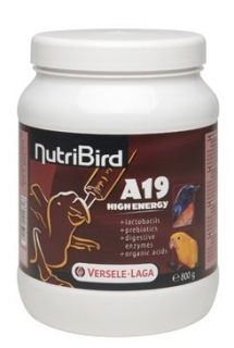 Versele-Laga NutriBird A 19 High Energy dokrm 800g