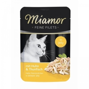 Miamor Cat Filet kapsa kuře+tuňák 100g
