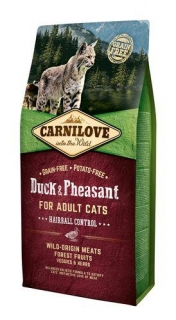 Carnilove Cat Adult Duck & Pheasant Grain Free 2 kg