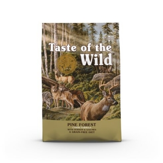 Taste of the Wild Pine Forest 12,2kg + konzerva TOW zdarma