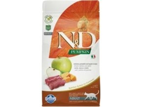 N&D GF Pumpkin CAT Venison & Apple 1,5kg