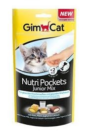 GIMCAT Nutri Pockets Junior mix 60g
