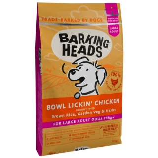 BARKING HEADS Bowl Lickin' Chicken (Large Breed) 12kg