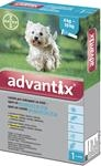 Advantix Spot On 1x1ml pro psy 4-10kg (1 pipeta)