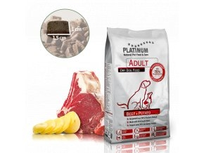 Platinum Adult Beef and Potatoes 1,5kg