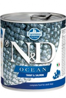 N&D DOG OCEAN Adult Trout & Salmon 285g