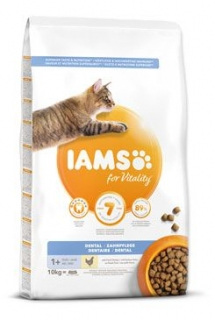 Iams Cat Adult DeNTaL Chicken 10kg