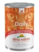 Almo Nature Daily Menu cat konz. hovězí 400g
