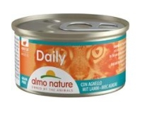 Almo Nature Daily Menu cat konz. jehně 85g