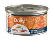 Almo Nature Daily Menu cat konz. kousky-pstruh 85g