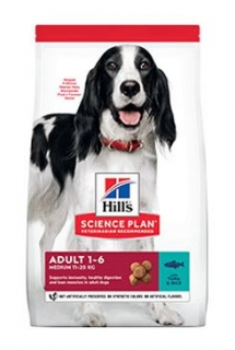 Hill's Science Plan Canine Adult Medium Tuna & Rice 12 kg