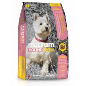 Nutram Sound Small Breed Adult Dog 2,72 kg