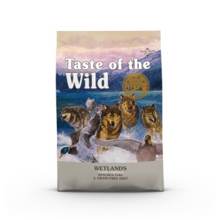 Taste of the Wild Wetlands Wild Fowl 12,2kg + konzerva TOW zdarma