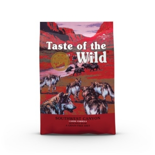 Taste of the Wild Southwest Canyon Canine 12,2kg + konzerva TOW zdarma