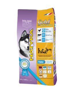 Natyka Gold Puppy & Small Dogs 4,5 KG