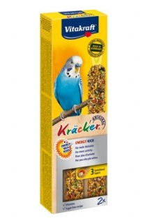 Vitakraft Bird Kräcker  energy budgies tyč 2ks