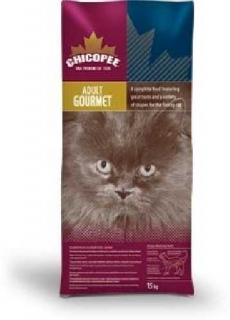 CHICOPEE ADULT CAT 3 FLAVOUR (GOURMET) 15 KG