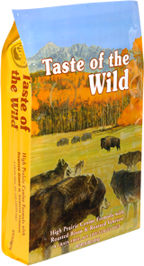 Taste of the Wild High Prairie 13kg + konzerva TOW zdarma